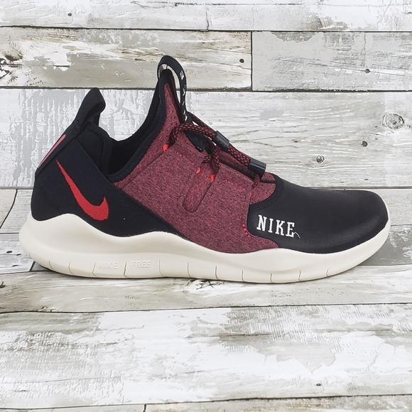e3e05dec47fd7 Nike Free RN CMTR 2018 Varsity Mens Shoes BlackRed